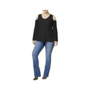 Style & Co. Cold-Shoulder Sweater
